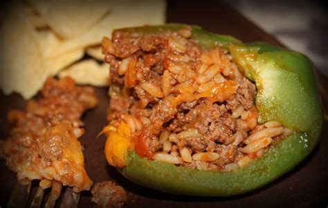 stuffed peppers recipe stuffed green peppers easy recipe bing images