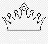 Coloring Crown Pages Ultra Clipart Pinclipart Middle sketch template