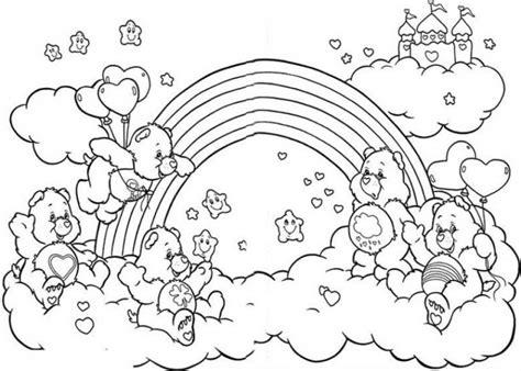 rainbow coloring pages jzjz