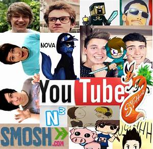 Youtuber picture collage by moonlightwolf578 on DeviantArt