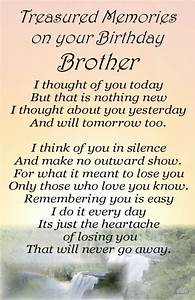 Bereavement Grave Card BROTHER Birthday my no 64 | Brother ...