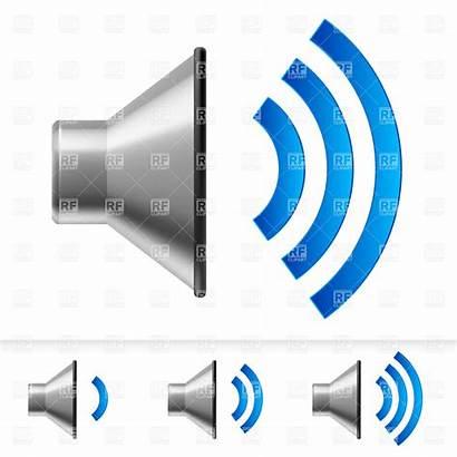 Volume Clipart Turn Speaker Icons Level 20clipart