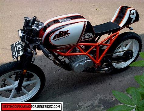 Modifikasi Motor Gl Pro Cafe Racer by Modifikasi Honda Gl Pro 1994 Cafe Racer Gambar