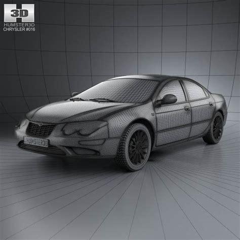 04 Chrysler 300m by Chrysler 300m 2004 3d Model Hum3d