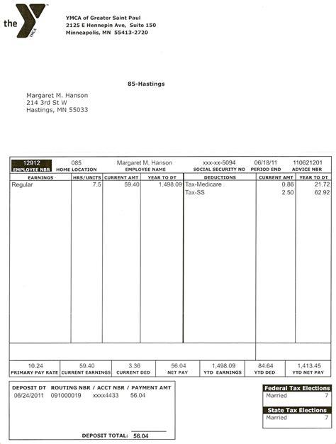 pay stub template pdf 3 pay stub template pdfreport template document report template