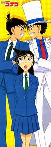 Shinichi Kudo Ran Mouri Kaitou Kid by nagi sanzenin ...