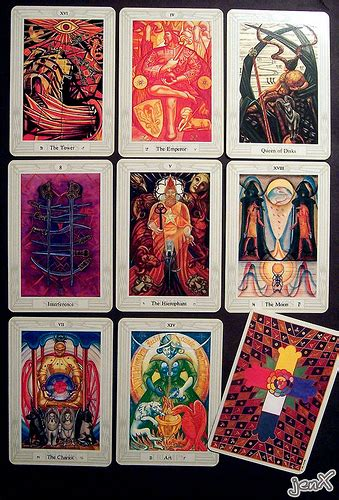 thoth deck the aleister crowley s thoth tarot deck flickr photo