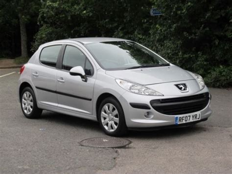used peugeot for sale uk used peugeot 207 2007 petrol silver manual for sale in