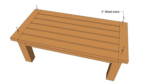 make wood patio table woodworking projects