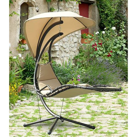 sunjoy mentor single seat patio swing