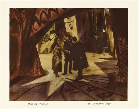 Cabinet Of Doctor Caligari Poster by Cabinet Of Dr Caligari The