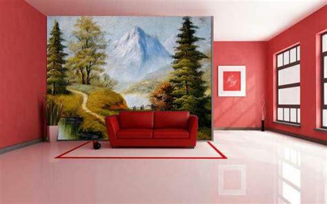 gambar lukisan ruang tamu desainrumahidcom