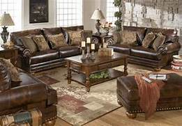 Brown Durablend Traditional Living Room Furniture Set W Nailheads Home Traditional Sofa Set Formal Living Room Furniture MCHD839 Luxurious Traditional Formal Living Room Furniture Exposed Carved Wood Traditional Sofa Set Formal Living Room Furniture 3ps Living Room