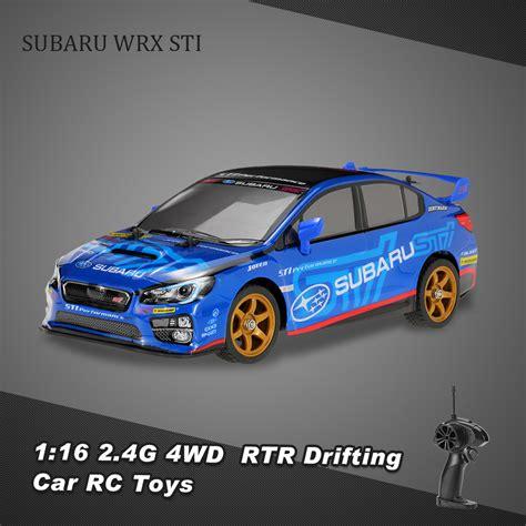 Sti Rc Car by Original Hrc 8008 G 1 16 2 4g 2ch 4wd Subaru Wrx Sti Rtr