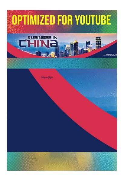 Psd Template Banner Channel Business China Elegantflyer
