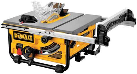 bosch vs dewalt table saw bosch gts1031 vs dewalt dw745 portable jobsite table saws