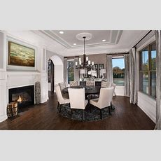 Model Home Interiors  Transitional  Dining Room