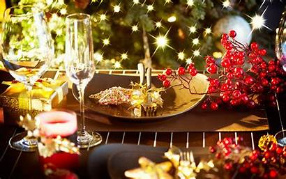 Table Candles Dinner Jesus Glasses Holiday Wallpapers