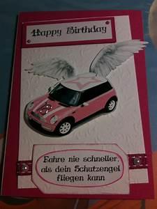 Geschenk Zum Führerschein : 18 geburtstag f hrerschein mini cooper rosa wei ~ Jslefanu.com Haus und Dekorationen