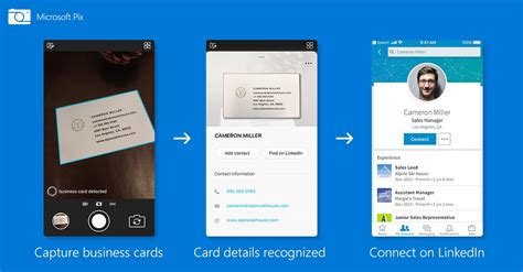 Microsoft Updates Its Iphone Camera App To Scan Business Cards Business Rhythm Calendar Cards Design South Africa Sync Tasks Development Quotes Funny Card Victoria Bangla Days Vs Excel Vista