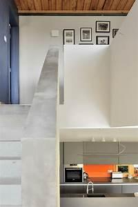 maison basse energie a lucenay effinergie fabien perret With maison avec jardin interieur 5 extension de maison toiture double pente verandaline