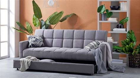 avellino fabric sofa bed