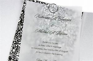 5 vellum wedding invitation ideas you can do for Wedding invitation clear paper