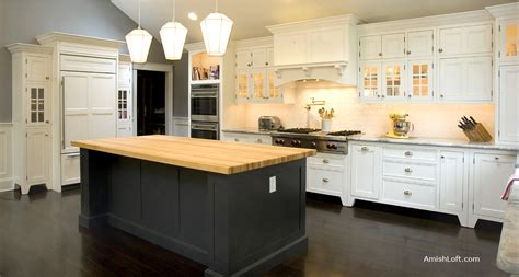 Amish Made Kitchen Cabinets Pa, Freestanding Kitchen And
