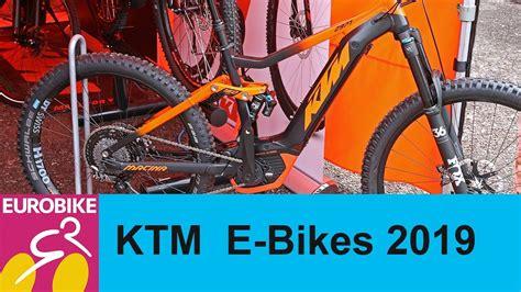 e bike ktm 2019 ktm e bikes 2019 presentation eurobike 2018