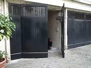 motorisation d39un portail battant avec ouverture a l With motorisation portail vers exterieur
