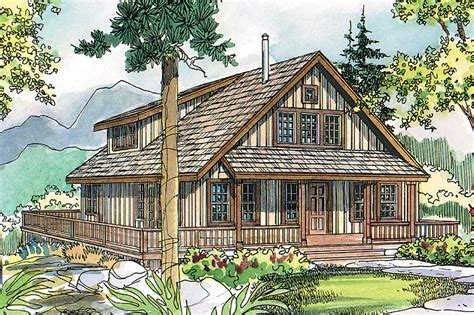 The Arden Is A Vacation Cottage Home Plan  Associated Designs