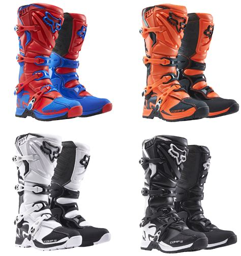 fox youth motocross boots fox racing youth all colors comp 5 dirt bike boots mx atv