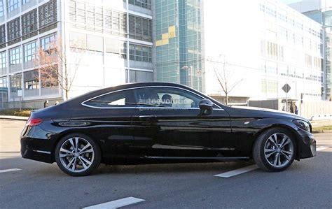 mercedes benz  class coupe facelift shows