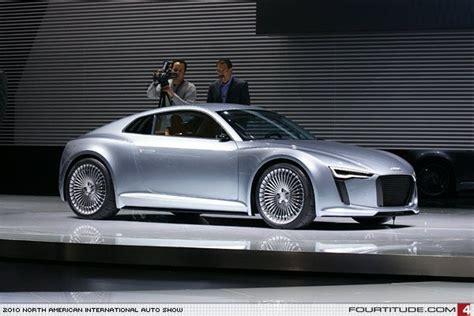Audi e-tron Detroit concept. Photo by Fourtitude.com | E-tron, Audi, Tron