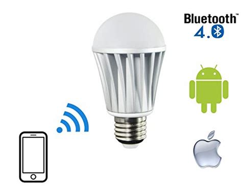flux bluetooth led light bulb dimmable multicolored