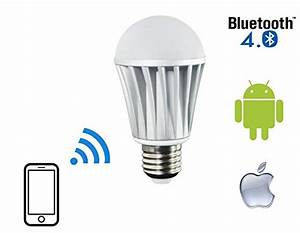 Flux™ Bluetooth LED Light Bulb – Dimmable Multicolored ...