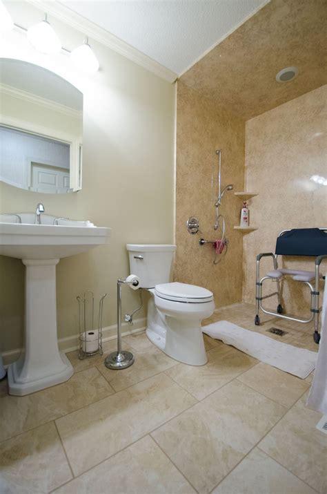 handicap walk in shower ss305 after 0465 re bath remodels handicap bathroom