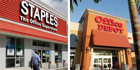 Office Depot Staples by Staples Office Depot In Advanced Merger Talks Wsj Huffpost