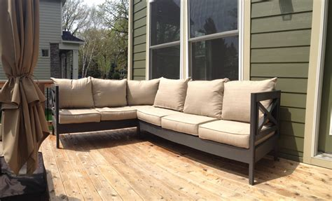 ana white weatherly patio sectional seats  diy projects