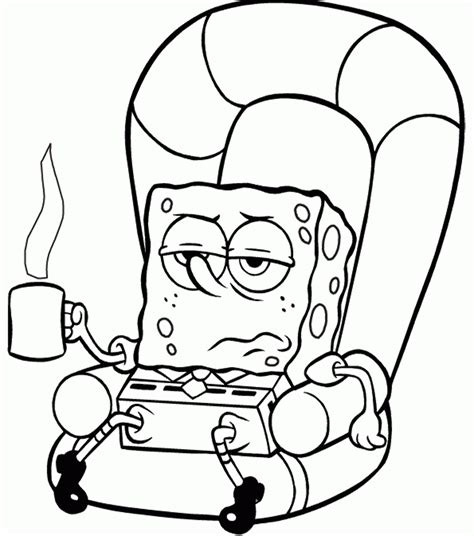 Gary Spongebob Coloring Pages Coloring Home