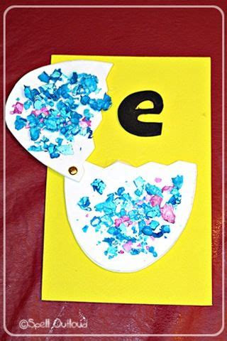 Letter E Preschool Craft