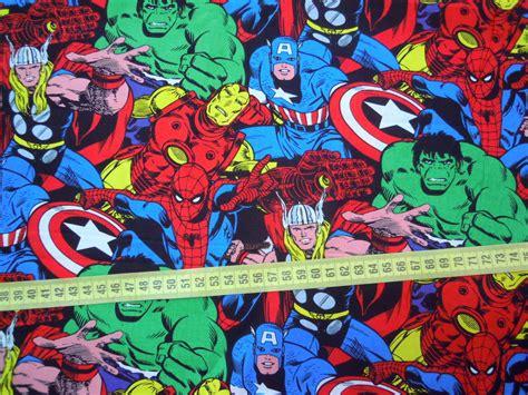 TI010 Tecido Avengers M no Elo7   Pannobom (616A49)