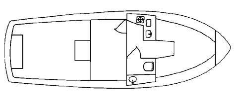 Toy Boat Outline by Acadia 25 Diesel Atlas Boatworks