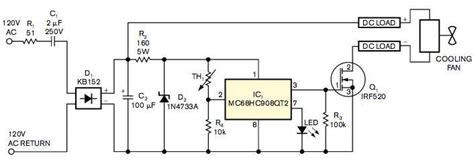 Line Powers Microcontroller Based Fan Speed Regulator Edn
