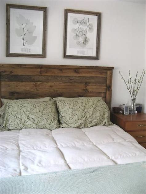 diy headboard wood 16 outstanding diy reclaimed wood headboards for rustic