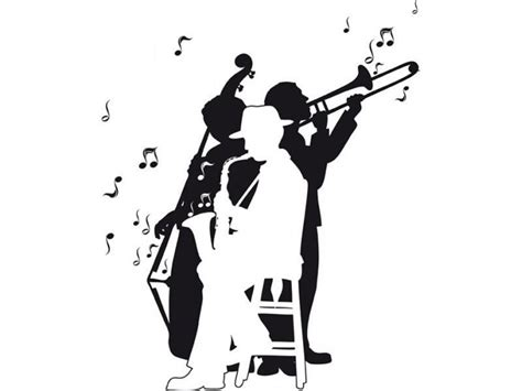 Jazz Band, Jazz And Wall Decals