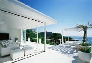 view interior of homes beautiful house overlooking the