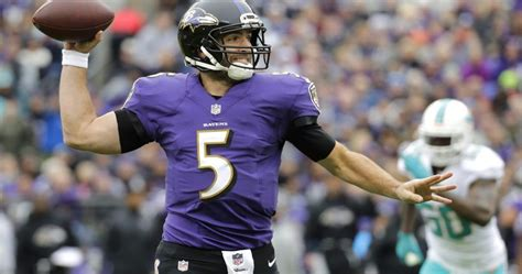Joe Flacco Will Have Multiple Teams Interested In His Services