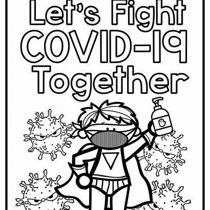 Covid Colouring Sheets English Teacherfiera