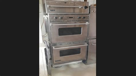 Viking Professional Double Oven with Warmer Drawer The